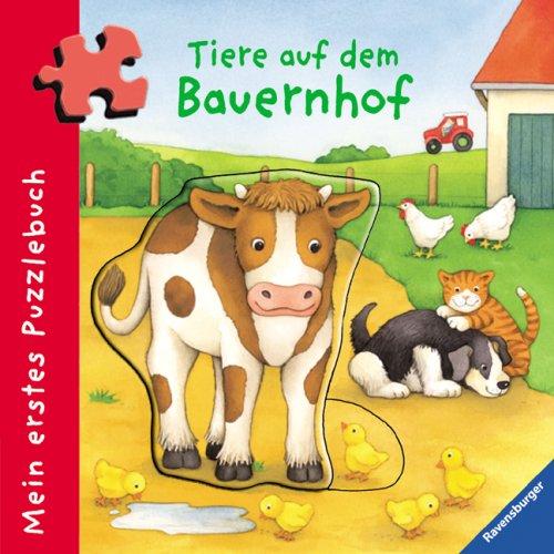 Mein erstes Puzzlebuch: Tiere auf dem Bauernhof