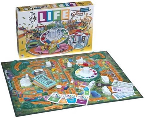 Hasbro The Game of Life - Simpsons Edition: Amazon.es: Juguetes y juegos