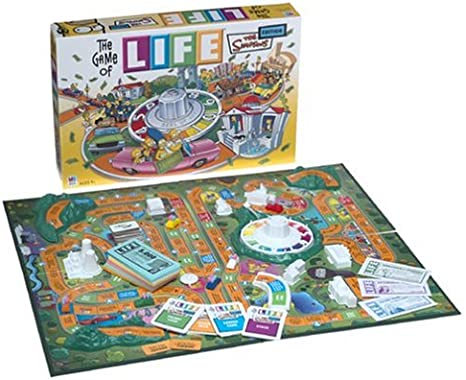 Hasbro The Game of Life - Simpsons Edition: Amazon.es: Juguetes y juegos