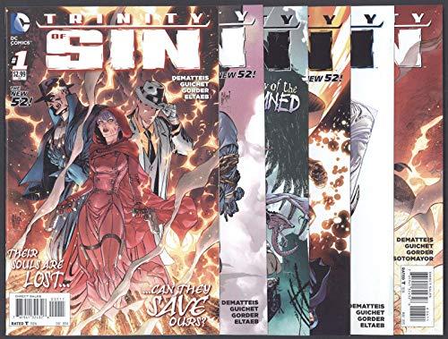 Trinity of Sin #1-6 Near Mint New 52 Complete Set Full Run DC Comics 2011 CBX1Z