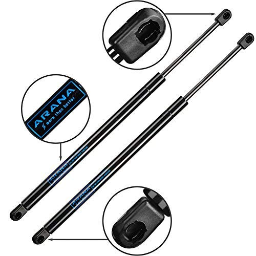 ARANA Hood Shocks for 1998-2002 Honda Accord - Front Gas Charged Lift Supports (Pack of 2 / Pair / 2pc) ()