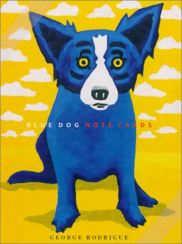 - Blue Dog Note Cards: The Cloud Series