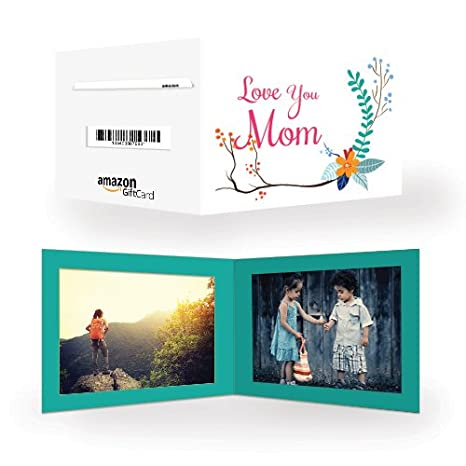 Amazon Pay Gift Card - Gifts for Mom | Photo frame - Love you mom ...