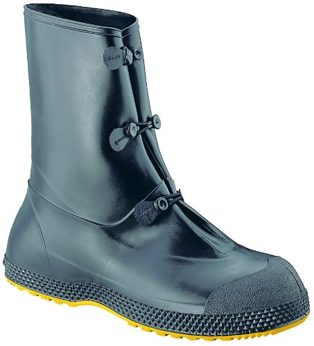 Honeywell Safety 11001-05-XL Servus SuperFit Mid Overboot for Men, X-Large, Black by Honeywell