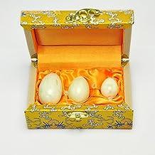 Gikfun Set of 3 Jade Eggs Women Pelvic Muscle Kegel Exercise Ek3012