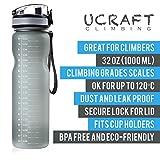 Ucraft Climbing Water Bottle - 1L/32oz