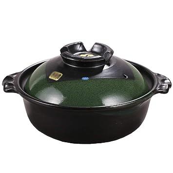 Utensilios De Cocina De CeráMica CeráMica Con Tapa Olla De Cocina Cacerola Sopa Olla De Piedra Multifuncional: Amazon.es: Hogar