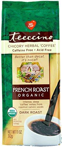 Teeccino Caffeine Free Herbal Coffee - Maya French Roast - 11 oz