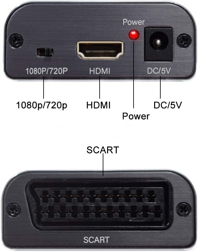 SCART to HDMI