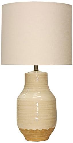 Henne Cream Ceramic Table Lamp Amazon Com