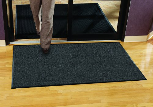 Guardian Platinum Series Indoor Wiper Floor Mat, Rubber with Nylon Carpet, 3'x15', Grey by Guardian (Image #2)