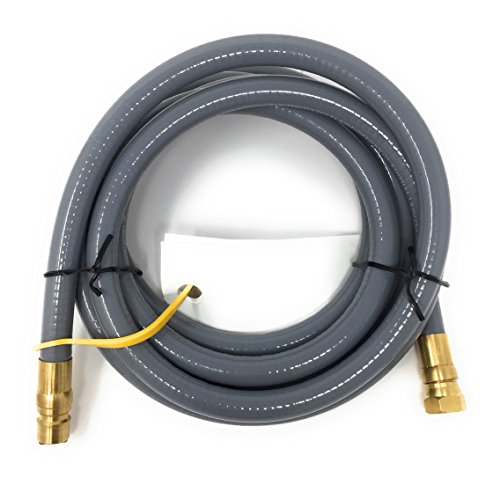 ... QDD+NG Gas Hose 12 Long Quick Disconnect Low Pressure Natural and Propane Gas Hose [2578 3FG1] 1/2 PSIG PRESSURE/Inlet 3/8 NPT Outlet 3/8 Flare Swivel ...