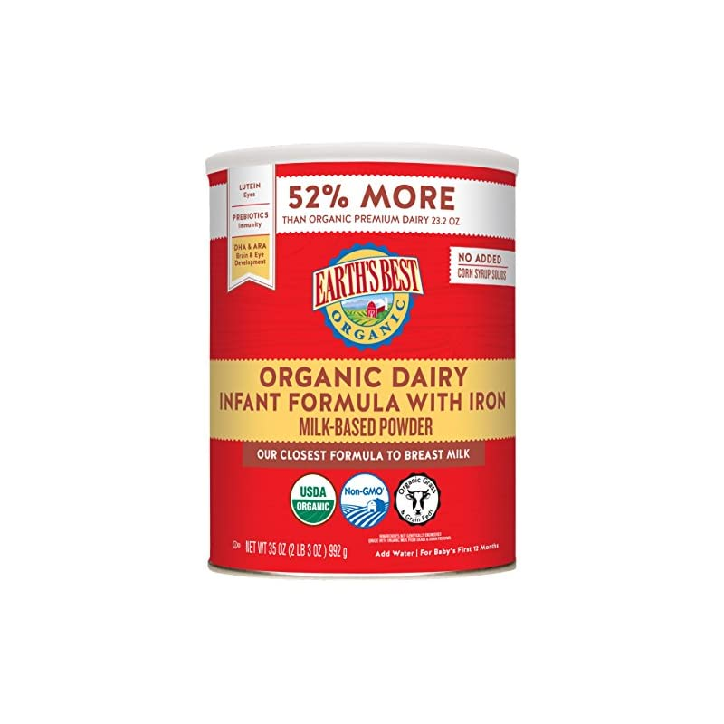 Earth's Best Organic Dairy Infant Powder