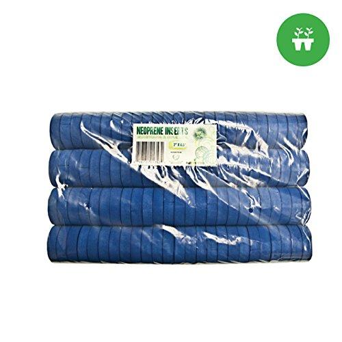2'' Neoprene Inserts (Sold 100 per Pack) - Blue