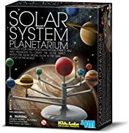 4M 3427 Solar System Planetarium - DIY Glow In The Dark Astronomy Planet Model Stem Toys Gift for Kids & T