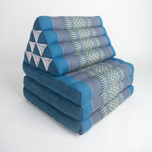 Leewadee Foldout Triangle Thai Cushion, 67x21x3 inches,