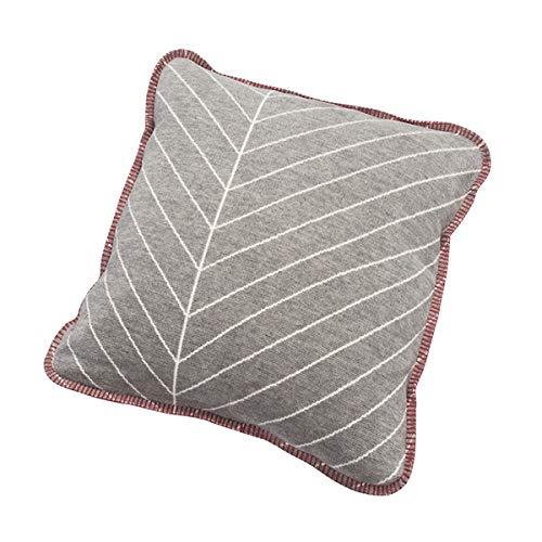 Räder Kissen Blätter Linien, 50 x 50 cm