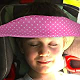 Colorful Toddler Car Seat Neck Relief and Head Support, Easy Installation On Most Convertible Seats, Offers Protection and Safety for Kids