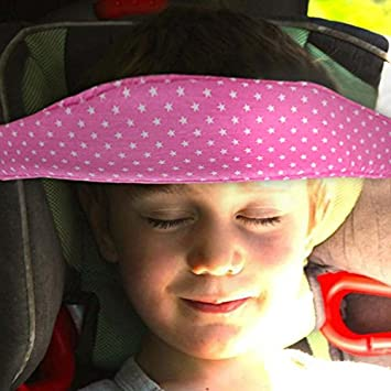 Colorful Toddler Car Seat Neck Relief And Head Support Easy Installation On Most Convertible Seats