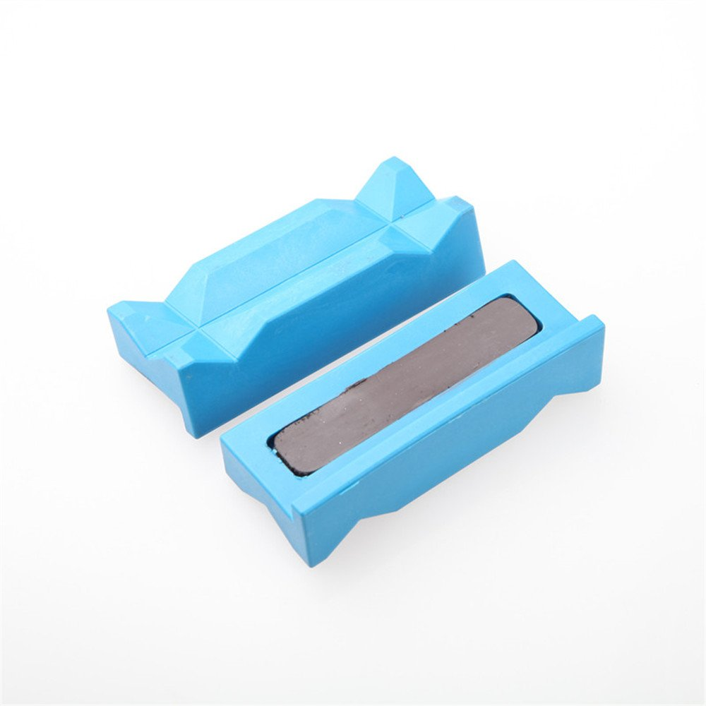 Aluminum Vise Soft Jaws Magnetic Black