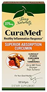 Terry Naturally CuraMed (375 mg) 120 Softgels