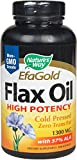 Flax Oil 1300 mg Nature's Way 200 Softgel For Sale