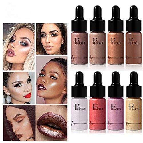Makeup Highlighter Illuminator Contouring Makeup Face Brightener Concealer Liquid Highlighter Primer Bronzer Face Glow Cosmetics (01)