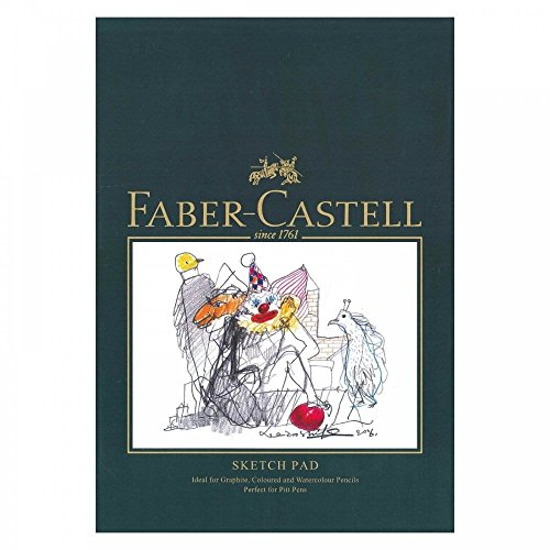 Faber-Castell Art & Graphic Sketch Pad, A5 160 GSM Pad of 40 Sheets