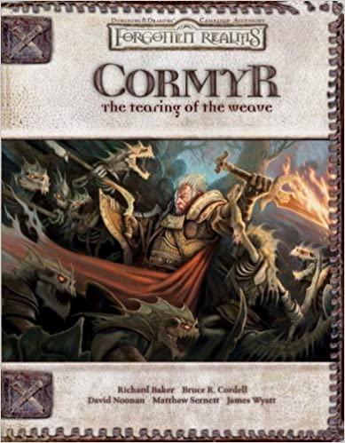 Cover of Cormyr: The Tearing of the Weave