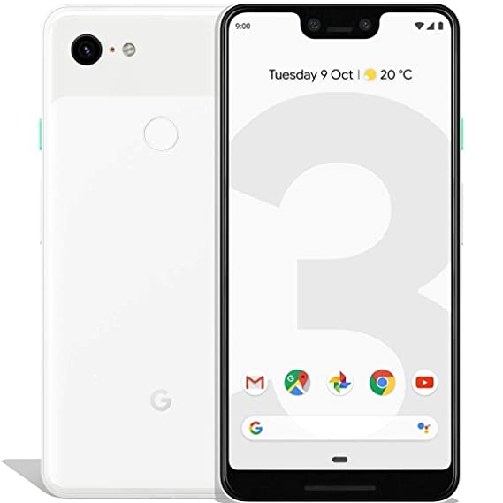Google Pixel 3 XL 64GB Unlocked GSM & CDMA 4G LTE Android Phone w/ 12 2MP  Rear & Dual 8MP Front Camera - Clearly White (Renewed)