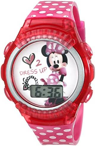 Disney Kids' MINKD552 Minnie Mouse Digital Watch