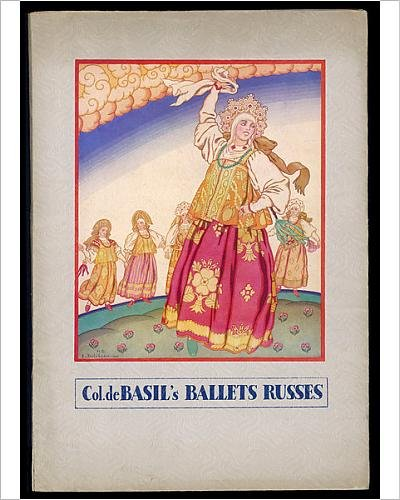 With Russian Folk Costumes Dance (Photographic Print Of Ballet)