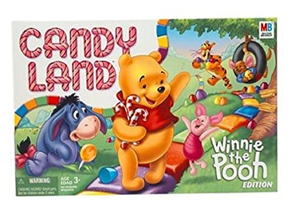 Spending superfluous Candy land toys speaking