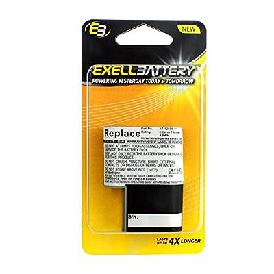 Exell Barcode Scanner Battery Fits Symbol PDT 3100, 3110, 3120, 3140 KT-12596-01, GTS3100-M, 21-36897-02, KT-12596-03, KT-12596-04, 50-14000-051, 50-14000-020, 21-36897-02