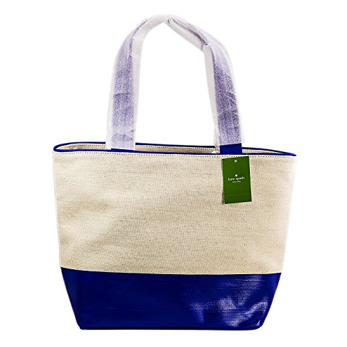 kate spade new york Heritage Spade Logo Summer Shoulder Bag, Natural/Island Deep, One Size by Kate Spade New York