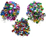 3 Assorted Sizes Sequins, 7mm 9mm & 10mm