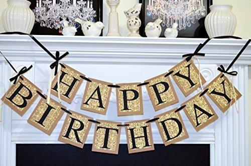 Amazon Com Happy Birthday Banner Birthday Party Decorations