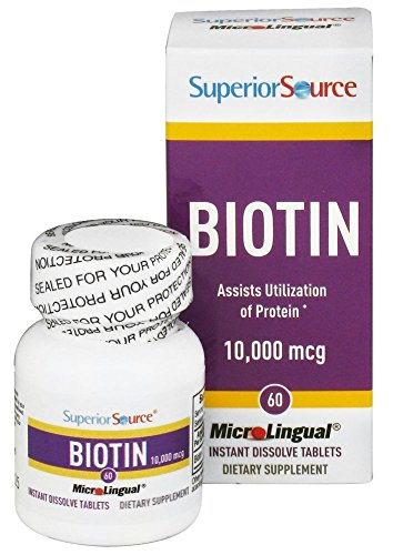 Superior Source - Biotin Instant Dissolve 10000 mcg. - 60 Tablet(s)