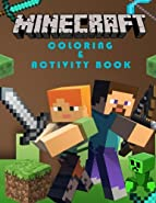 Minecraft Coloring Book: Great Activity & Coloring Pages for Kids. Mazes, Minecraft Math & More.