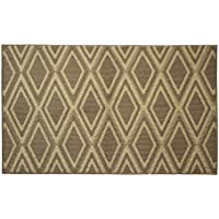 Jean Pierre All Loop Sean 28 x 48 in. Decorative Textured Accent Rug, Linen/Berber