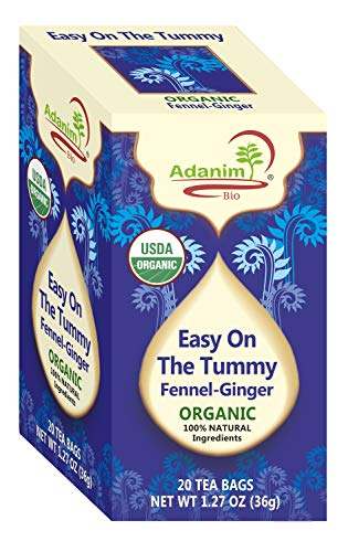 Adanim Ginger & Fennel Herbal Tea - Organic