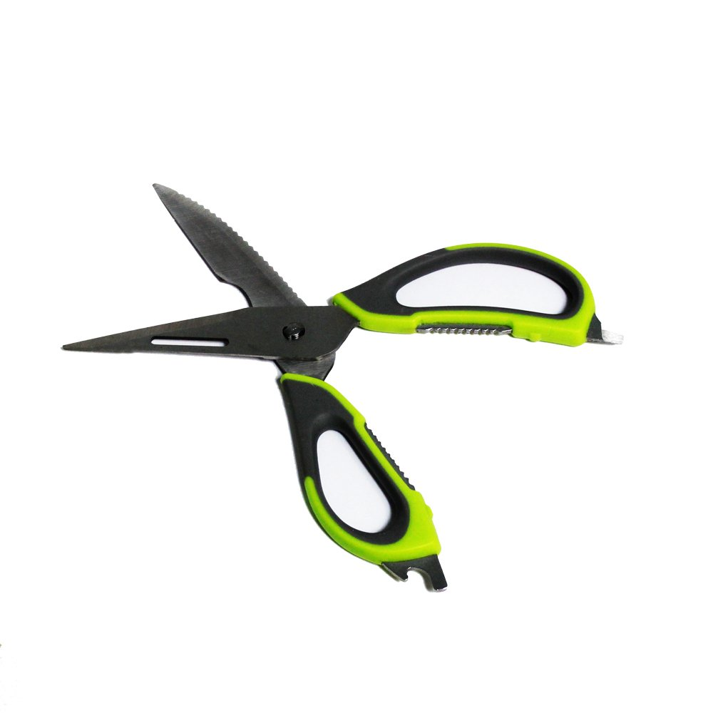 Pure Acoustics High Quality Comfortable Grip Cutter Handle Scissor for Kitchen Using