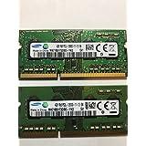 Samsung 4GB PC3-12800 DDR3-1600MHz non-ECC Unbuffered CL11 204-Pin SoDimm 1.35V Low Voltage Single Rank Memory Module Mf