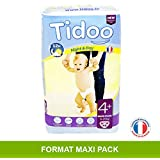 Tidoo 48 couches Taille 4+ : Maxi + 9 20Kg