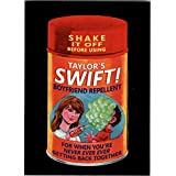 2017 Wacky Packages 50th Anniversary Music #4 Taylor's Swift Boyfriend Repellent - NM-MT