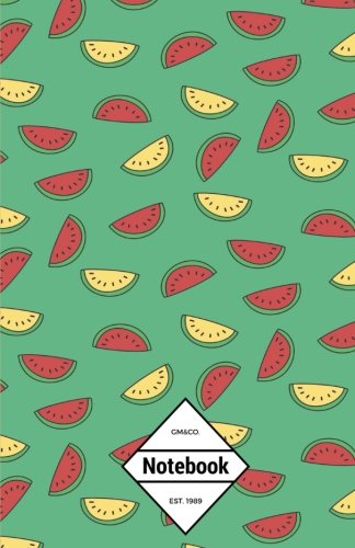 """GM&Co: Notebook Journal Dot-Grid, Lined, Graph, 120 pages 5.5""""x8.5"""": Melon Summer pdf epub"""