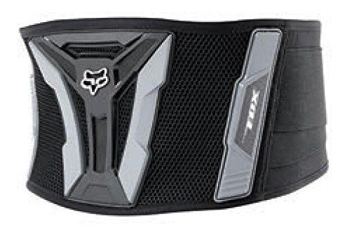 [Fox Turbo kidney belt chest protector Gentlemen black/grey] (Pressure Suit Body Armor)