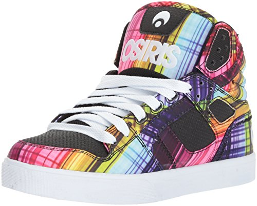 Neon Osiris Skate CLONE Women's Shoe Plaid YIwx6qIrz