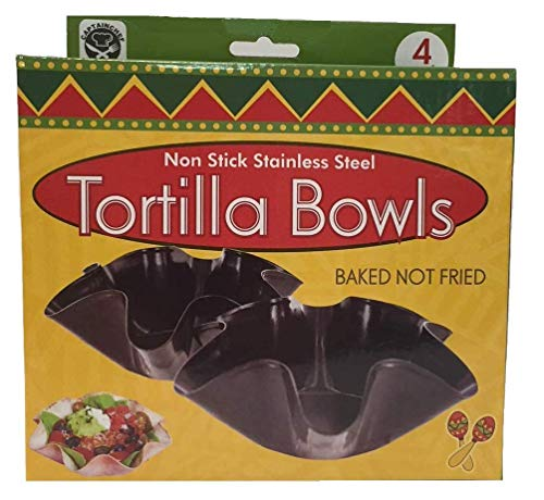 Tortilla Pan Set  Non Stick Steel Set of 4 by Chefcaptain (Image #2)