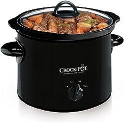 Crock-Pot Manual Slow Cooker, 3 Quart (SCR300-B)